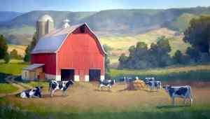farm-barn-cows-fields-hills-pasture-red-free_110852