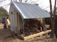 D. Wood Shed West Side