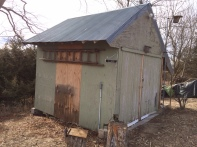 D. Wood Shed East Side