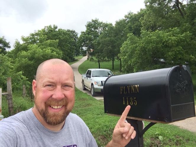New mailbox height.